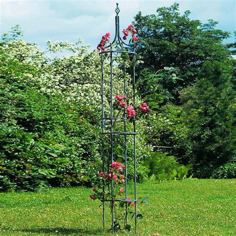 Obelisk Garten Rankhilfe by Rankhilfe Obelisk Empire Antik Blau G 228 Rtner P 246 Tschke