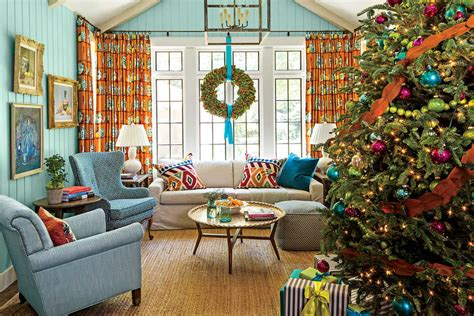 rustic christmas decor southern living christmas and holiday decorating ideas featured homes