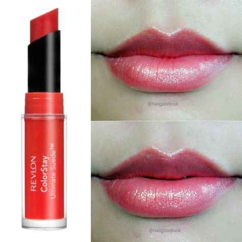 Lipstik Dan Bedak Revlon revlon colorstay ultimate suede review and swatches