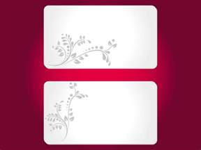 cards templates free business cards templates to print business card sle