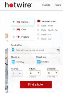 hotwire blind booking hotwire s demonstration of how to lose a customer for
