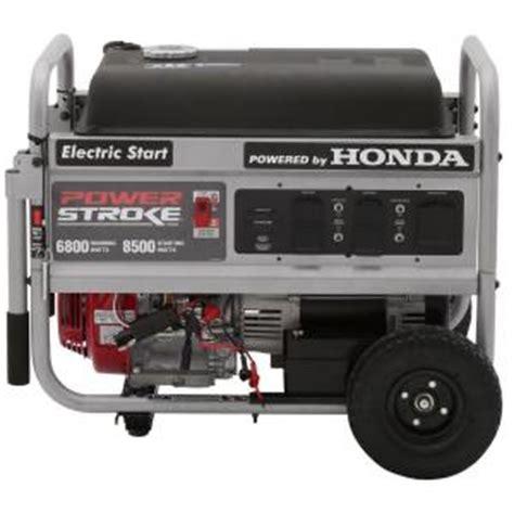 powerstroke honda 6800 8500 watt generator the