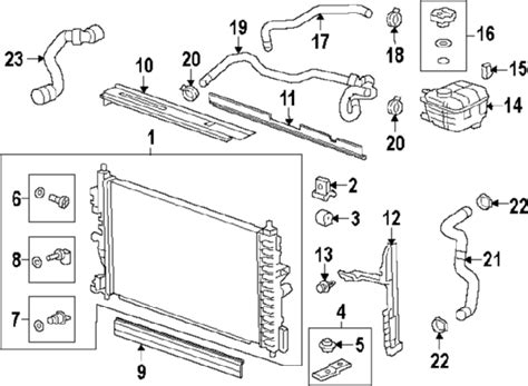 2011 Chevy Cruze Cooling System Diagram | 2011 chevrolet cruze parts gm parts department buy
