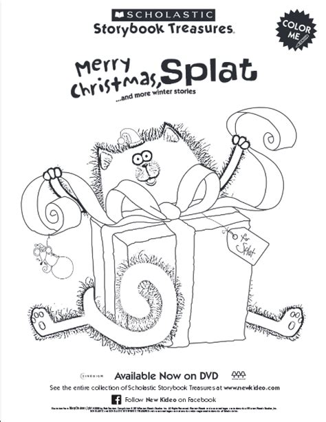 merry christmas splat coloring pages merry christmas splat and more winter stories dvd review