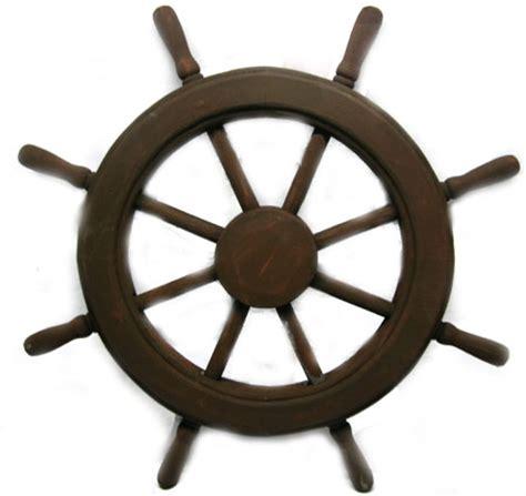 boat steering wheel decor wood boat steering wheel decor 30 quot brown