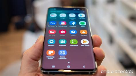 Samsung Galaxy S10 Apps by Samsung Galaxy S10 Which Storage Size Should I Buy Android Central