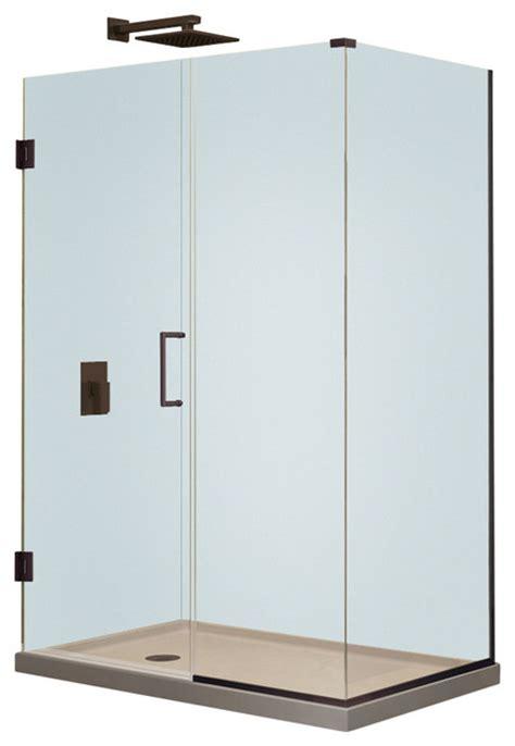 Modern Shower Stall Dreamline Unidoor Plus 30 Quot X30 375 Quot X72 Quot Shower Enclosure