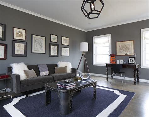 Gray Blue Living Room Gray And Blue Living Room Contemporary Living Room Greg Natale