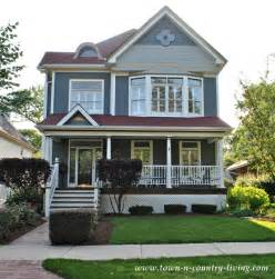 Landscaping Curb Appeal - home tour in the historic district of naperville illinois town amp country living