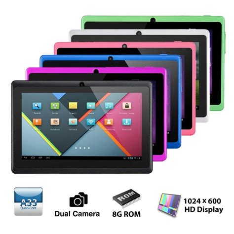 7in android tablet 7 inch android tablet pc 8gb
