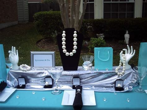tiffany co inspired centerpiece set tiffany box
