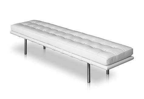 long leather bench bauhaus lederbank schlichte lederbank lange lederbank