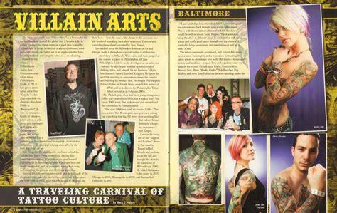villain arts convention tour by skin ink magazine
