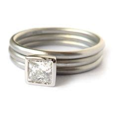 Square Rempel Diamon by 1000 Ideas About Stacking Rings On