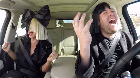 sia talk aliens decipher lyrics in carpool karaoke
