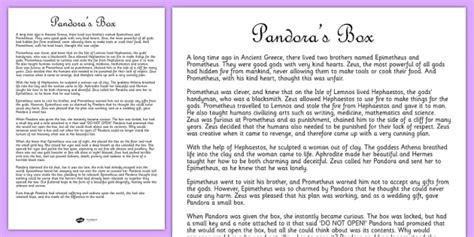 printable version of pandora s box pandoras box ancient greek myth story print out ancient