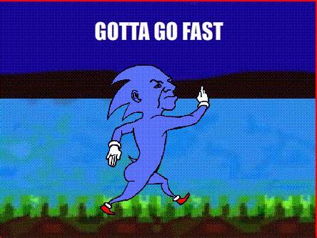 Sonic Gotta Go Fast Meme - 10 million messages extravaganza page 2959 oneplus forums