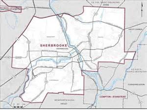 sherbrooke canada map sherbrooke coin des cartes elections canada en ligne