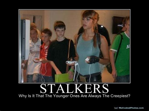 Stalkers On The by Image Gallery Scary Stalker