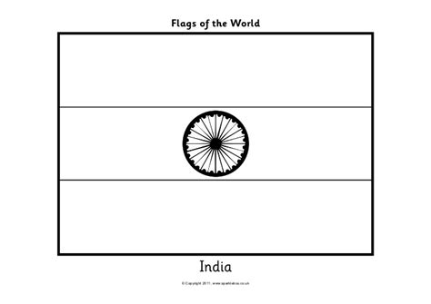 coloring pages of the indian flag flags coloring