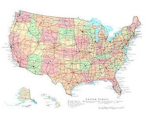 us political map with major cities maps of the usa the united states of america political