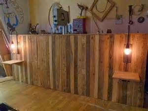 diy headboard with shelves pallet bed headboard with shelves pallet ideas recycled