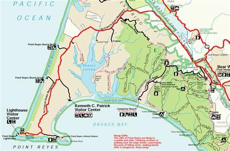 point reyes national seashore map jen anind s wedding