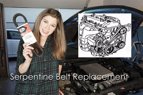 mazda 3 serpentine belt replacement how to replace a serpentine belt