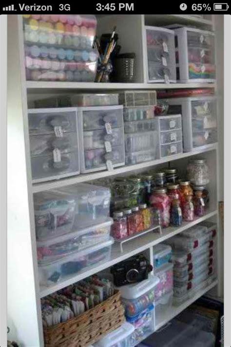 Craft Closet Organization by Craft Closet Organization