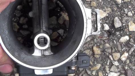 luftmassenmesser reinigen mit bremsenreiniger youtube