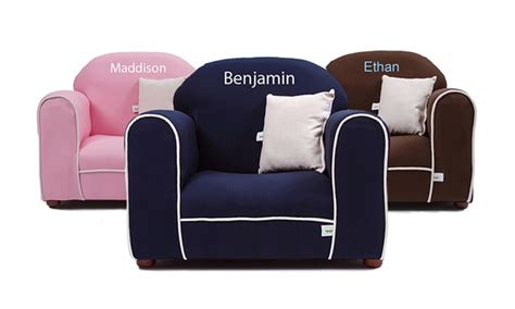 little kids recliners personalized kids chairs sofas kid s sofa w boxed skirt