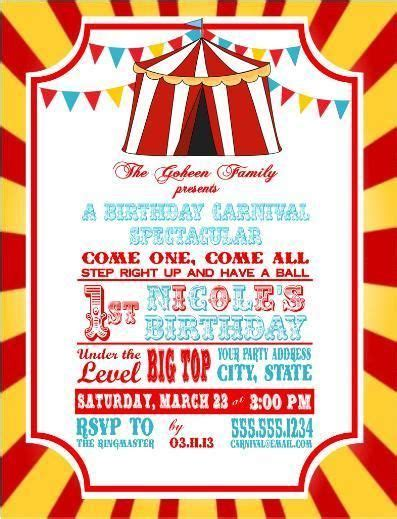Best 25 Dumbo Birthday Party Ideas On Pinterest Circus Birthday Circus First Birthday And Dumbo Invitation Template