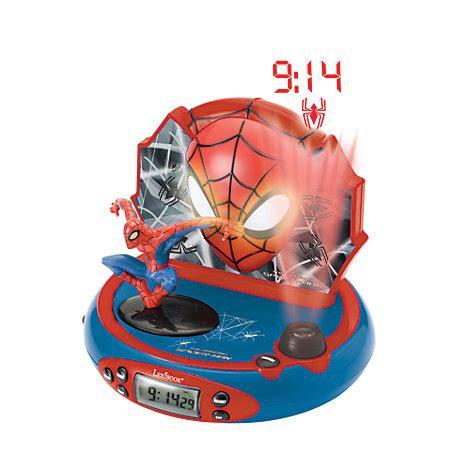 spider alarm clock radio projector