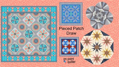 Pieced With Quilt Shop by Pieced Patch Draw