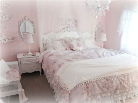 Light Pink Bedroom Ideas Bedroom Light Pink Chic Bedroom Decoration Using Light Pink Ruffle Bed Valance