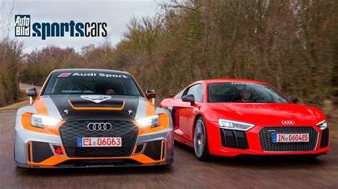 Auto Bild Sportscars Rs3 soundcheck mtm rs3 lms 330ps r8 supercharged 802ps