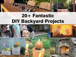yard projects 20 fantastic diy backyard projects