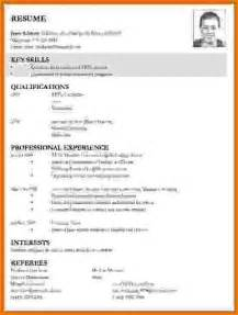 Prepare A Curriculum Vitae by 8 How To Make Cv For Teaching Job Rent Roll Template