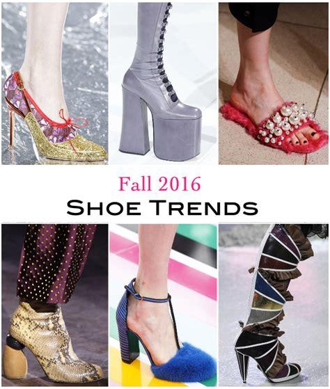 Fall Shoe Trends by Womens Fall 2016 Shoe Trends