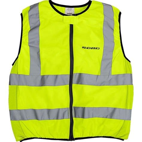 road warning vest  yellow