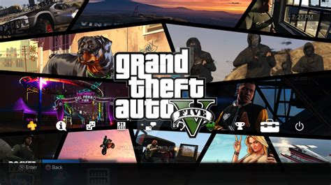 gta 5 ps4 themes grand theft auto 5 dynamic ps4 theme by madmoneybanks on