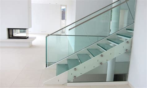 Treppengeländer Edelstahl Glas by Karlsruher Anzeiger Schlosserei Wahlich