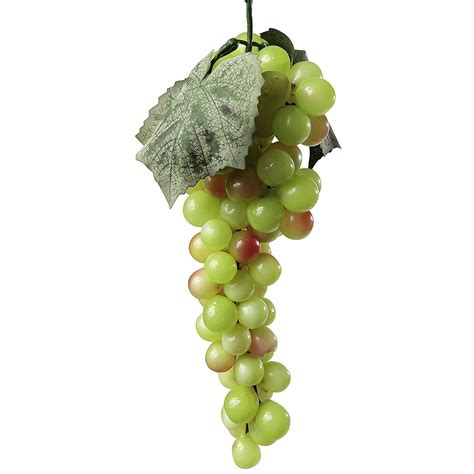 d 233 co grappe de raisins aliment factice 30 cm verte
