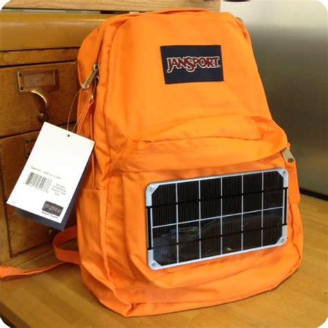 build your own jansport solar backpack voltaic solar blog