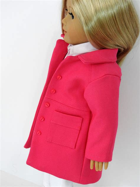 Handmade Doll Clothes For 18 Inch Dolls - 18 inch doll clothes handmade wind chill coat for american