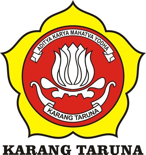 desain kaos karang taruna logo karang taruna logo