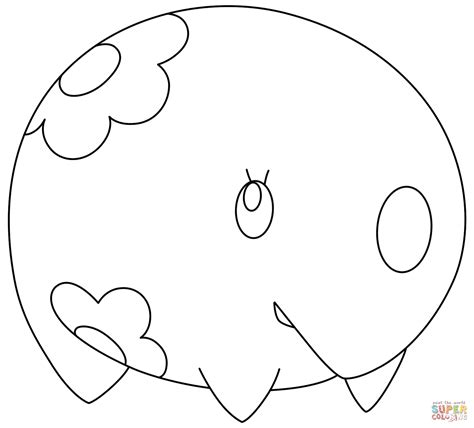 pokemon coloring pages rotom munna pokemon super coloring