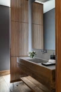 Formidable Creer Une Salle De Bain #4: salle-de-bain-bambou-pas-cher-idees-deco-salle-de-bain-en-bois-fonce.jpg