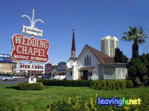 Candel Wedding Chapel In Las Vegas   The Wedding Specialists