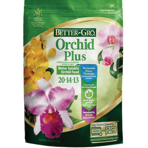 bett gro shop better gro orchid plus 16 oz indoor plant food at